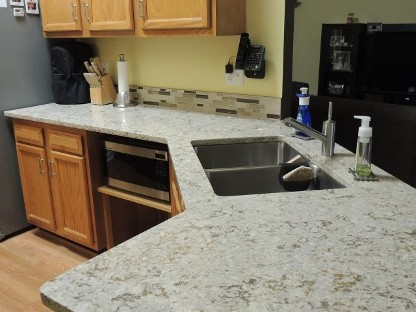 Chris's Countertop Sink