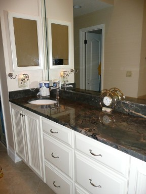 Ondo's Vanity Bathroom Countertop